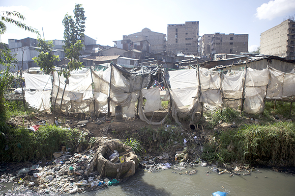 Tushinde, Mathare Slums